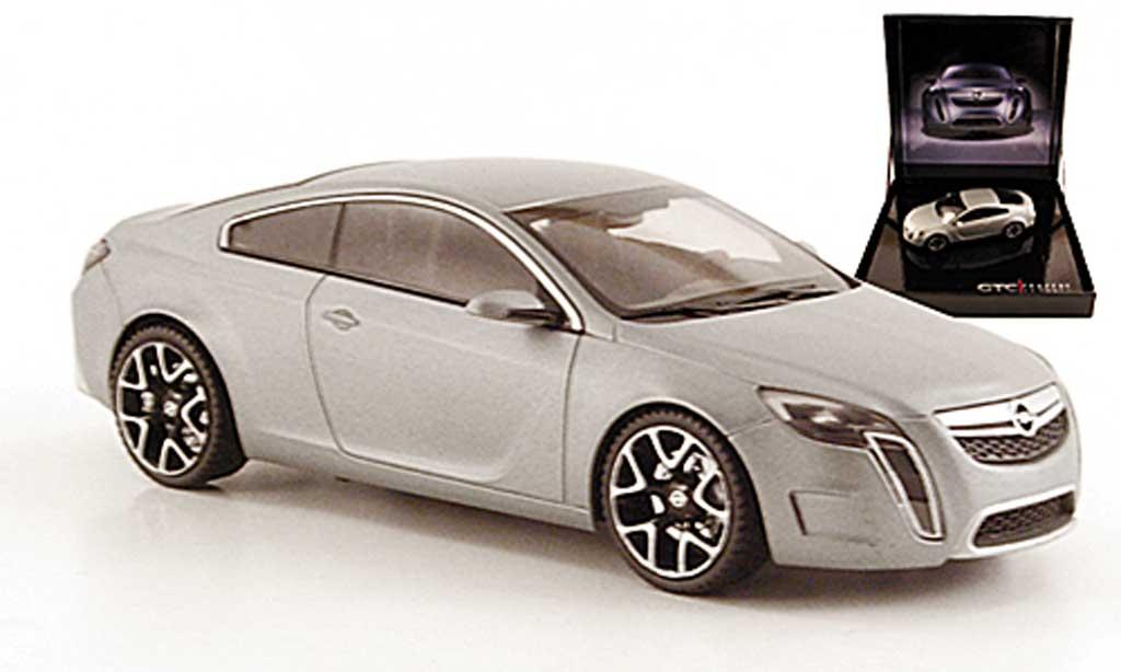 Opel GTC 1/43 Schuco Concept mattgrise 2007 miniature