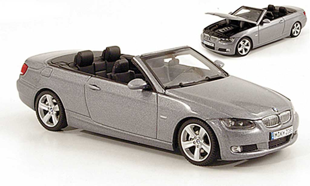 Bmw 335 E93 1/43 Autoart Cabrio grise 2006 miniature