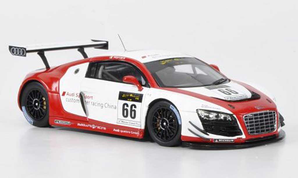 Audi R8 LMS 1/43 Spark No.66 Sport E.Mortara Macau Cup 2011