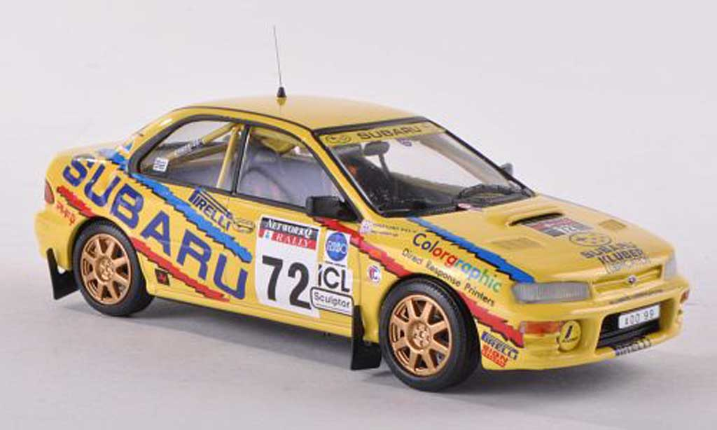 Subaru Impreza WRC 1/43 Trofeu No.72 R.A.C. Rally 1995 Roger Clark/M.Harvey diecast model cars