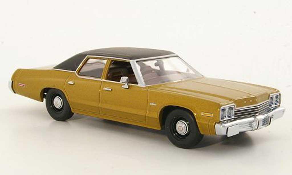 Dodge Monaco 1974 1/43 Minichamps gold/noire 1974 miniature