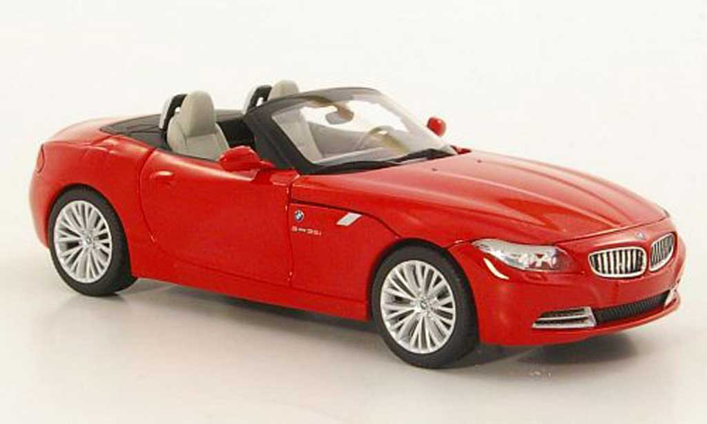bmw z4 e89 e89 rot 2009 minichamps modellauto 1 43 kaufen verkauf modellauto online. Black Bedroom Furniture Sets. Home Design Ideas