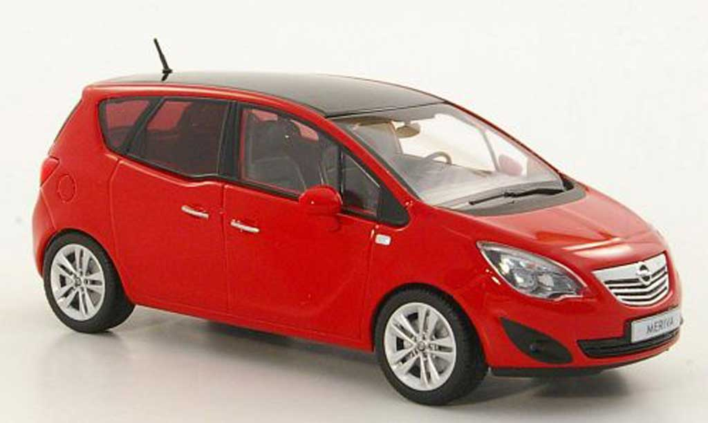 opel meriva miniature rouge 2010 minichamps 1 43 voiture. Black Bedroom Furniture Sets. Home Design Ideas