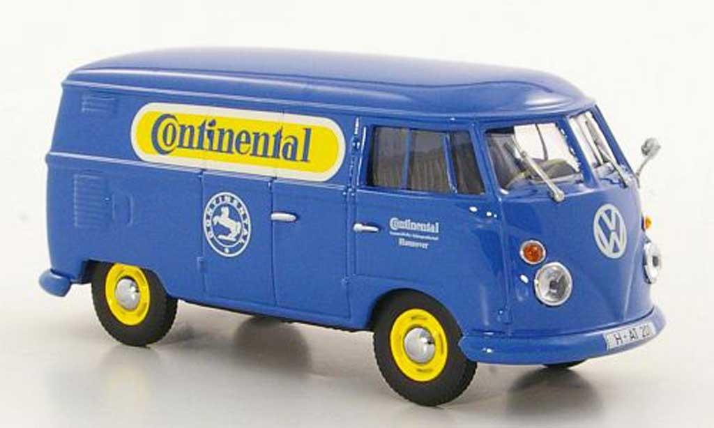 Volkswagen T1 1/43 Minichamps Kasten Continental 1963 diecast