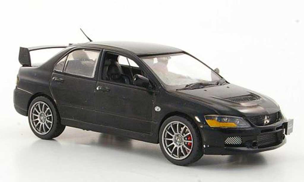 Mitsubishi Lancer Evolution IX 1/43 Vitesse noire RHD 2006