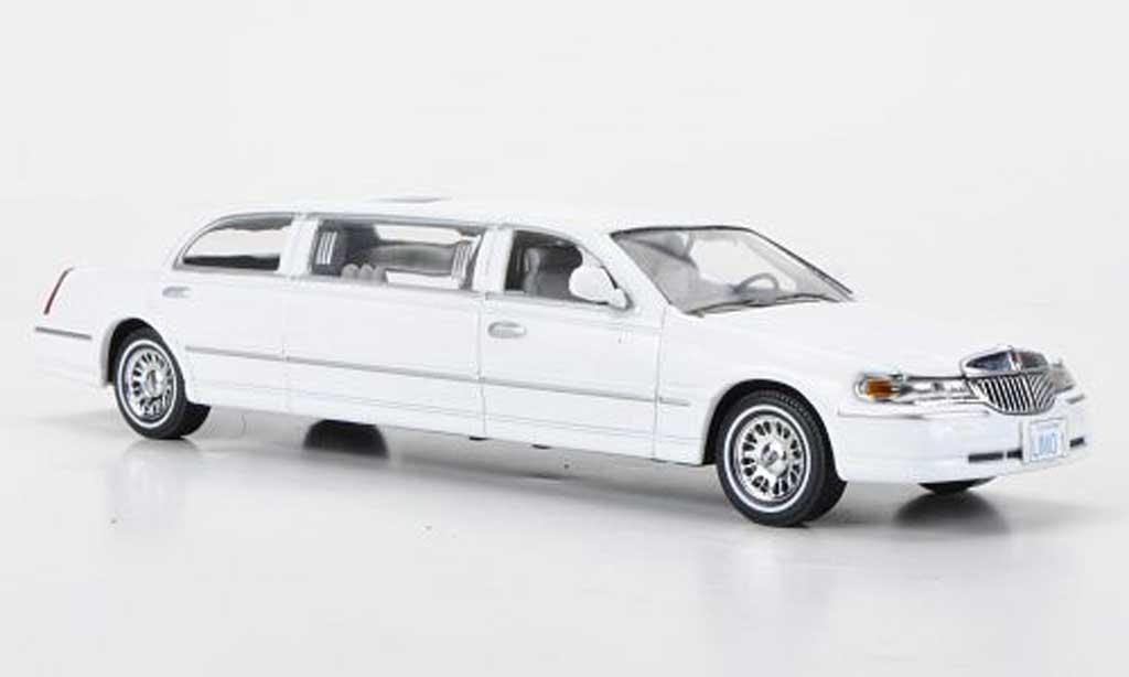 Lincoln Town Car 2000 1/43 Vitesse 2000 blanche miniature