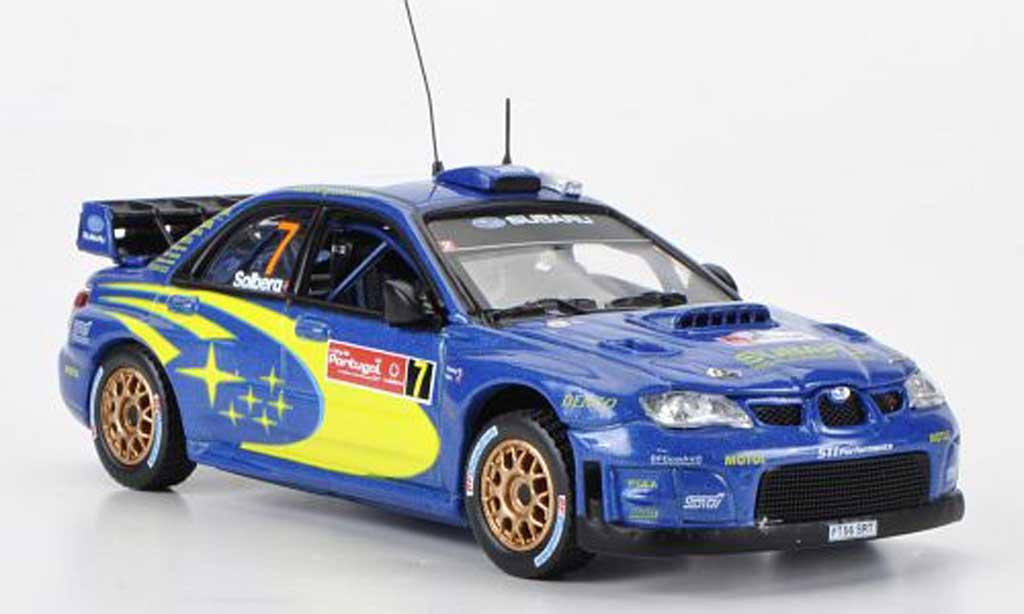 Subaru Impreza WRC 1/43 Vitesse 07 No.7 P.Solberg/P.Mills Portugal Rally 2007 miniature