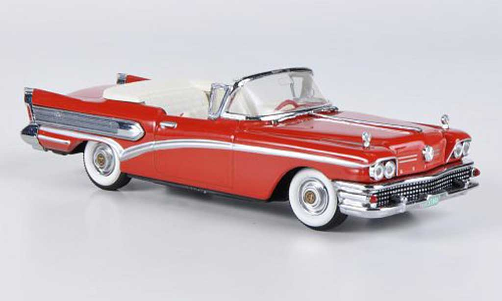 Buick Special 1/43 Vitesse Convertible rouge 1958 miniature