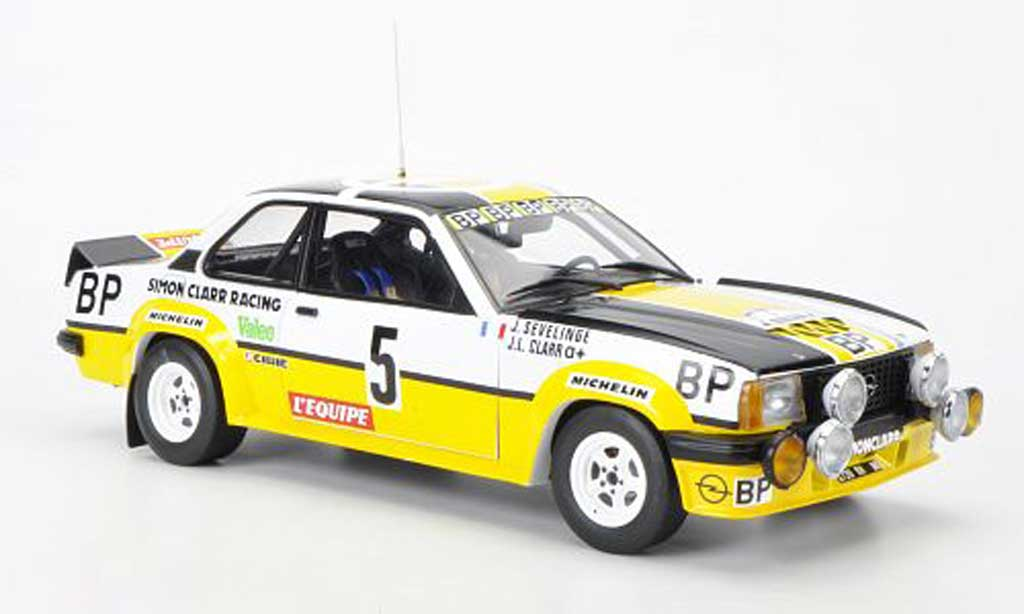 Opel Ascona 400 1/18 Sun Star No.5 BP Tour de France Automobile 1981 J.L.Clarr/J.Sevelinge miniature