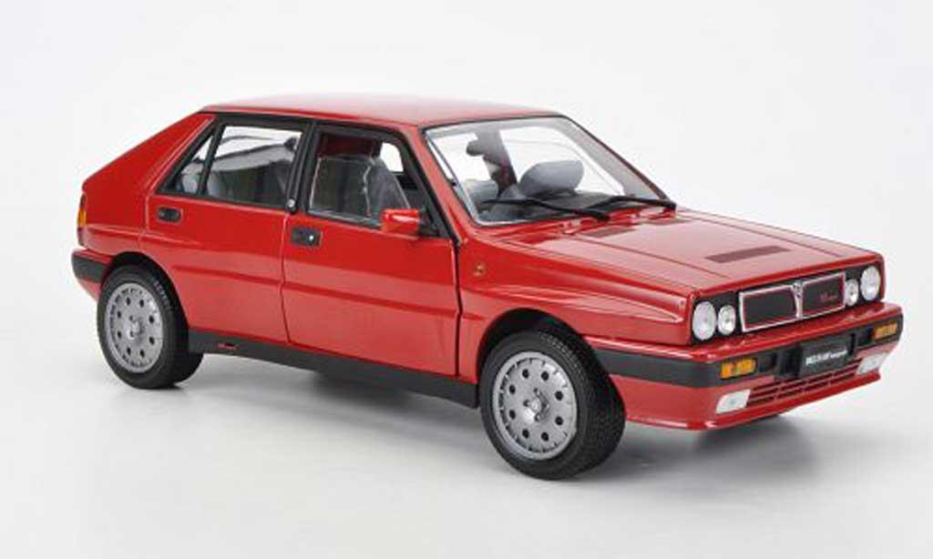 lancia delta hf integrale miniature 8v rouge 1990 sun star 1 18 voiture. Black Bedroom Furniture Sets. Home Design Ideas
