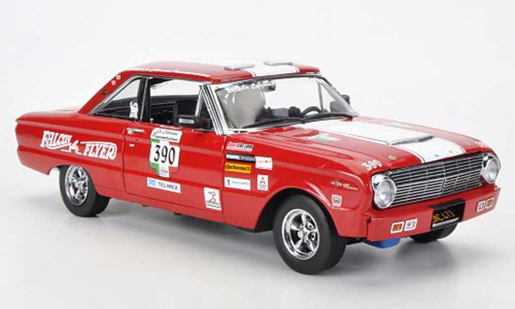 Ford Falcon 1/18 Sun Star No.390 J.LeCarner Carrera Panamericana 1963 diecast model cars