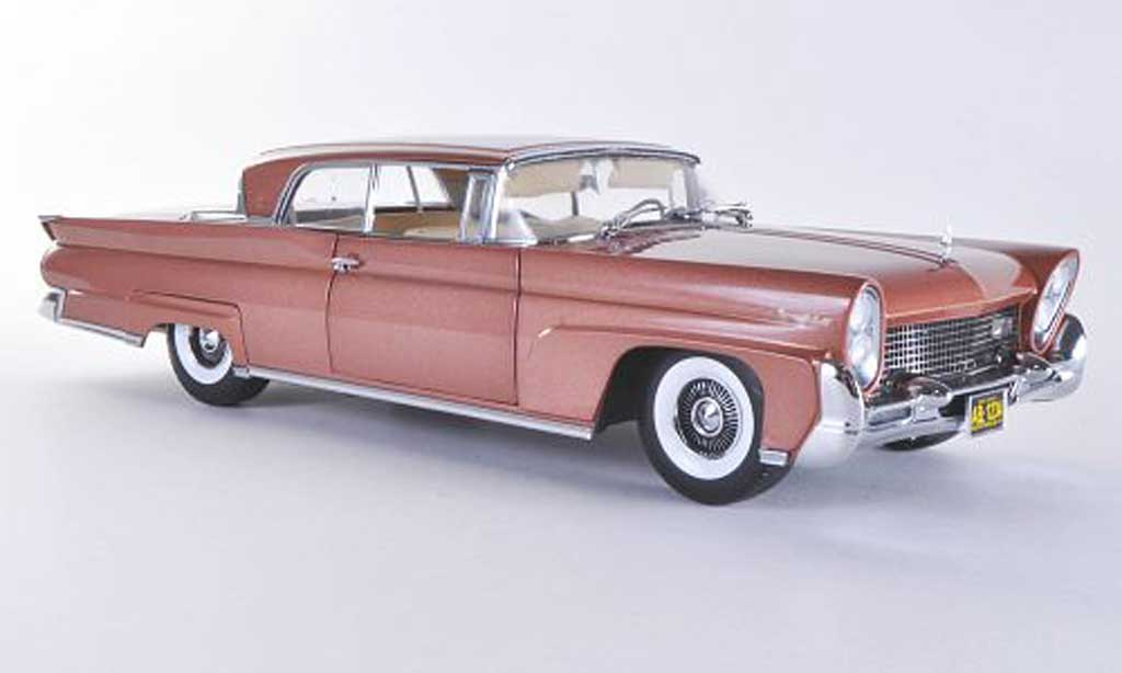 Lincoln Continental 1958 1/18 Sun Star Mark III Hardtop marron miniature