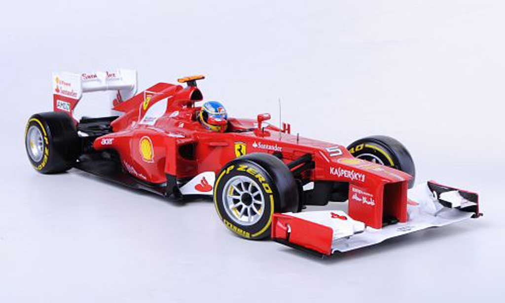 Ferrari F1 2012 1/18 Hot Wheels F No.5 F.Alonso Saison modellautos