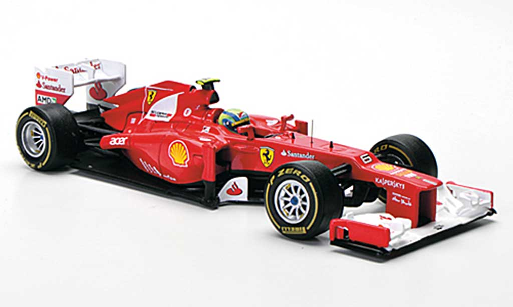 Ferrari F1 F2012 1/43 Hot Wheels No.6 F.Massa Saison 2012 modellautos