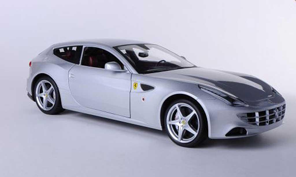 ferrari ff miniature grise hot wheels 1 18 voiture. Black Bedroom Furniture Sets. Home Design Ideas