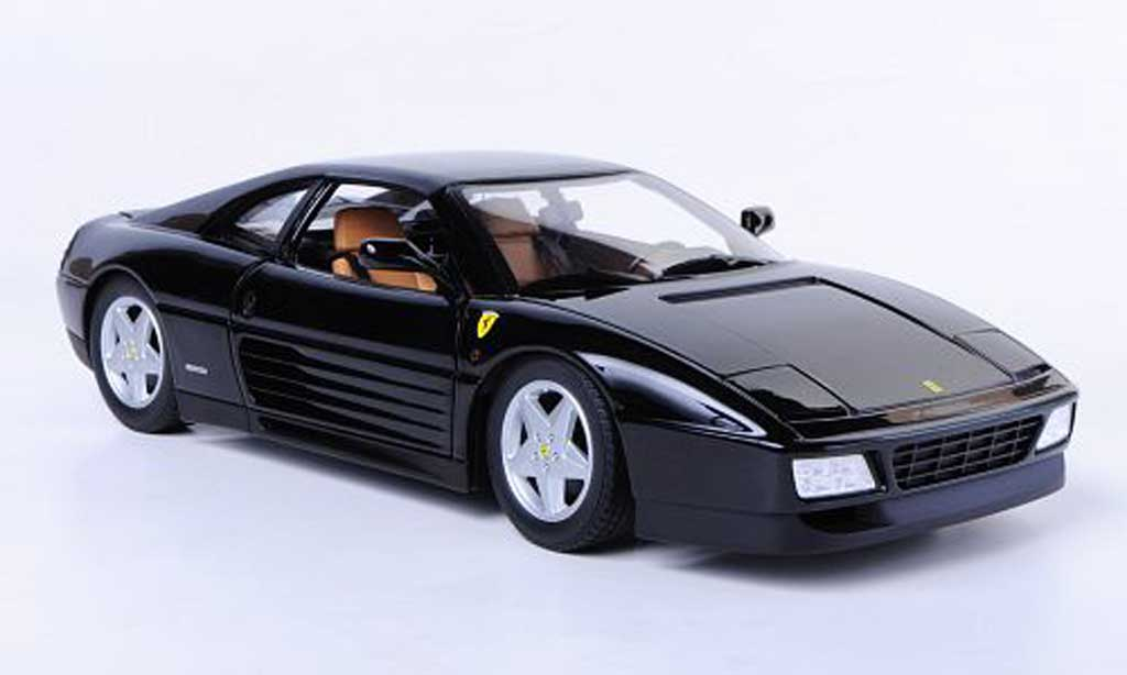 Ferrari 348 tb 1/18 Hot Wheels noire miniature