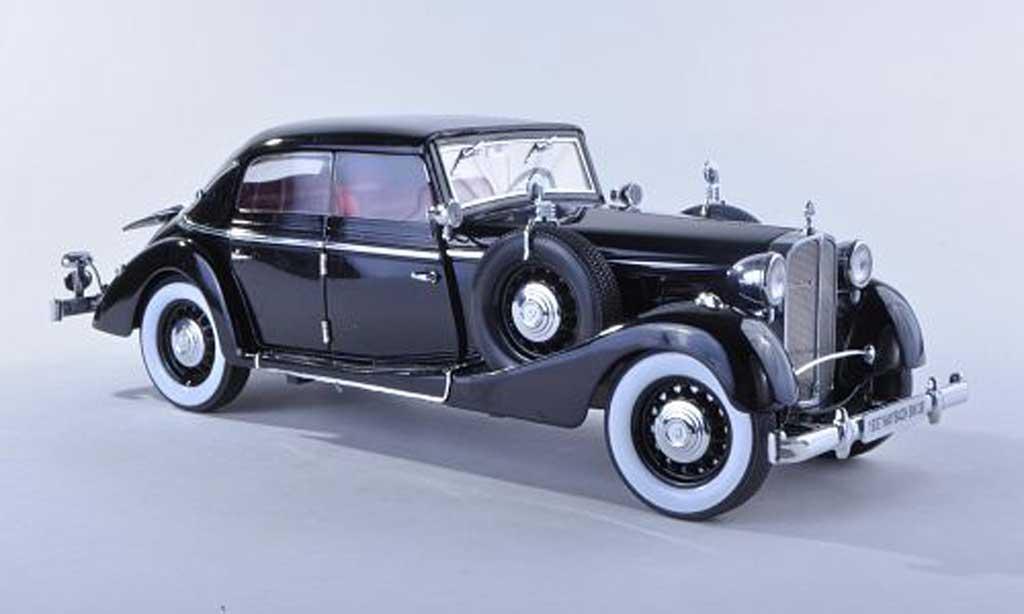 Maybach SW 1/18 Signature 38 cabriolet Spohn noire 4-portes (Premium) 1937 miniature