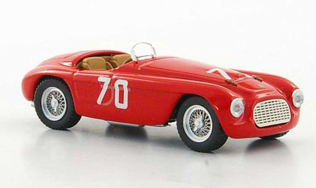 Ferrari 166 1952 1/43 Art Model MM No.70 E.Giletti Targa Florio miniature