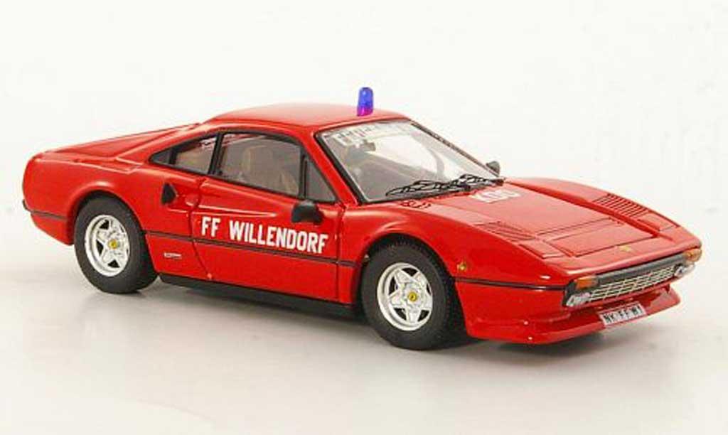 Ferrari 308 GTB 1/43 Best Freiwillige Feuerwehr Willendorf (A) 1983 miniature