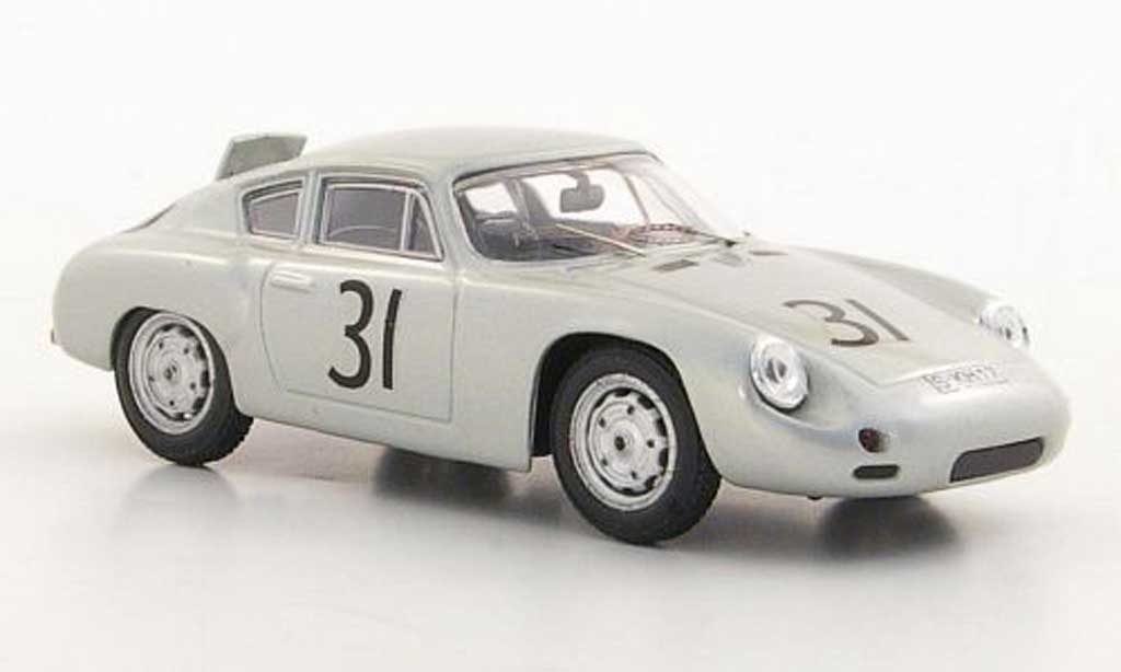 Porsche Abarth 1/43 Best No.31 Greger / Linge Nurburgring 1960 diecast model cars