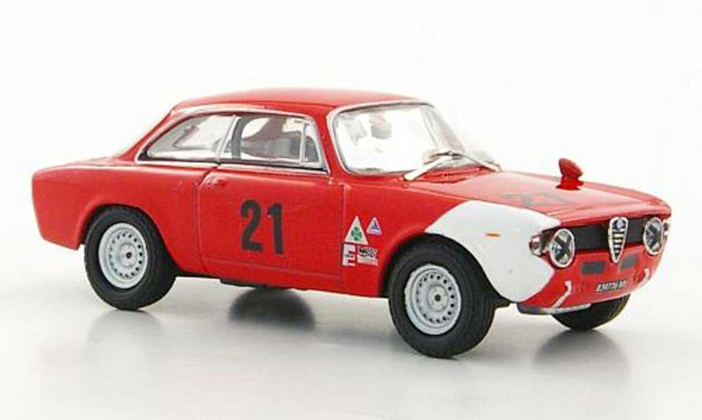 Alfa Romeo Giulia 1600 GTA 1/43 M4 No.21 A.de Adamich GP Belgien 1967 miniature