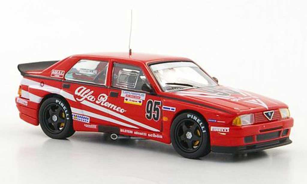 Alfa Romeo 75 Evoluzione No.95 A.Mantellini IMSA M4. Alfa Romeo 75 Evoluzione No.95 A.Mantellini IMSA Imsa miniature 1/43