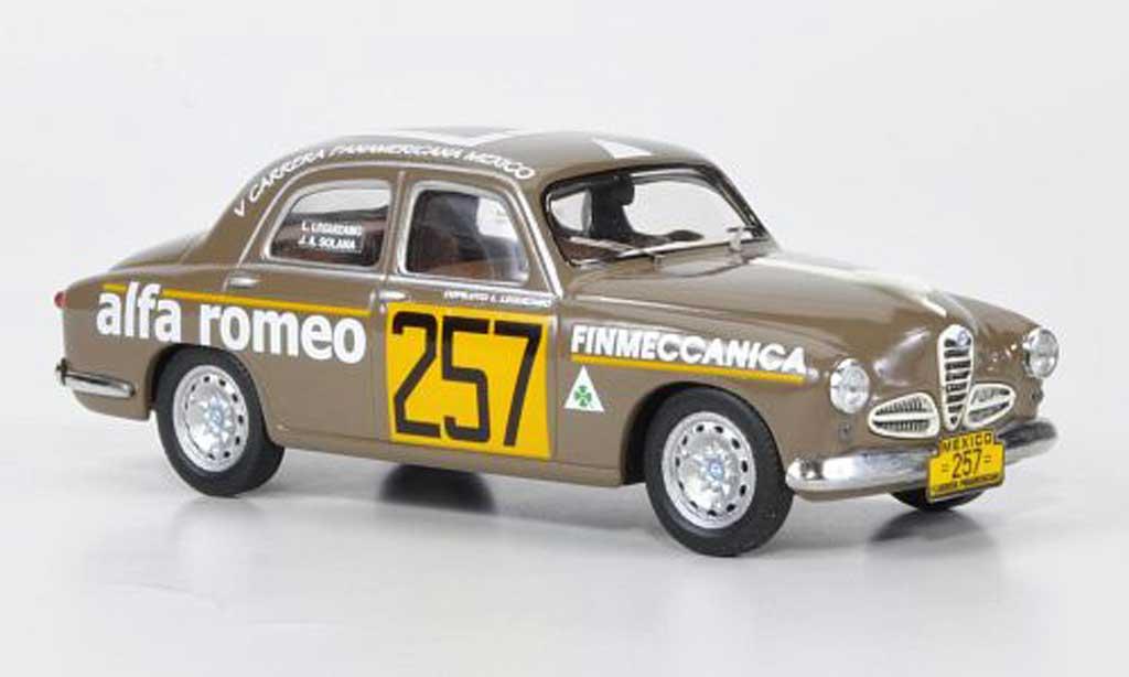 Alfa Romeo 1900 1/43 M4 Berlina No.257 J.A.Solana / L.Leguizamo Carrera Panamericana 1954 miniature