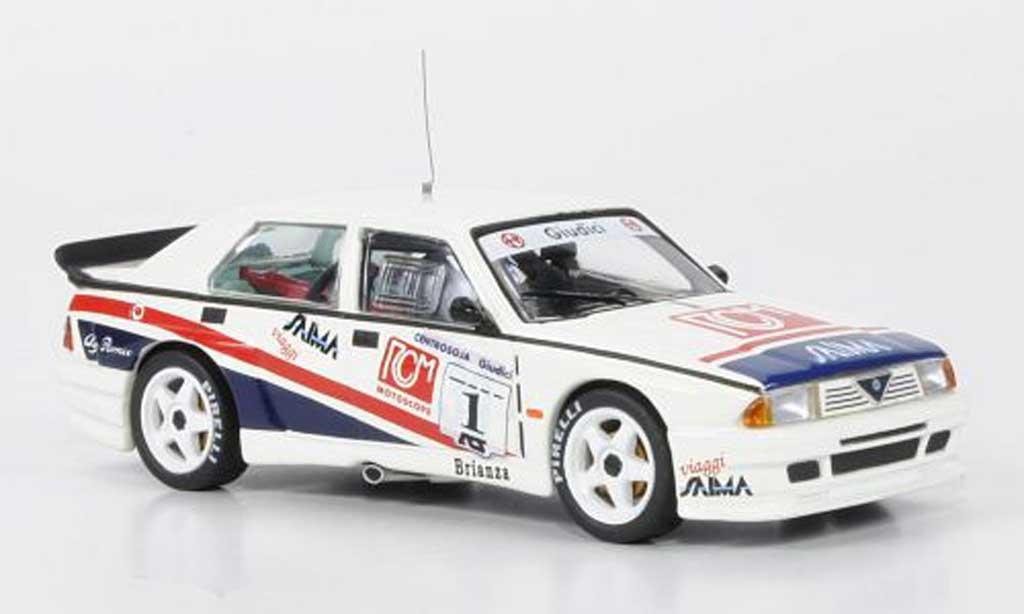 Alfa Romeo 75 Evoluzione 1/43 M4 No.1 G.Giudici Pergusa 1991 miniature