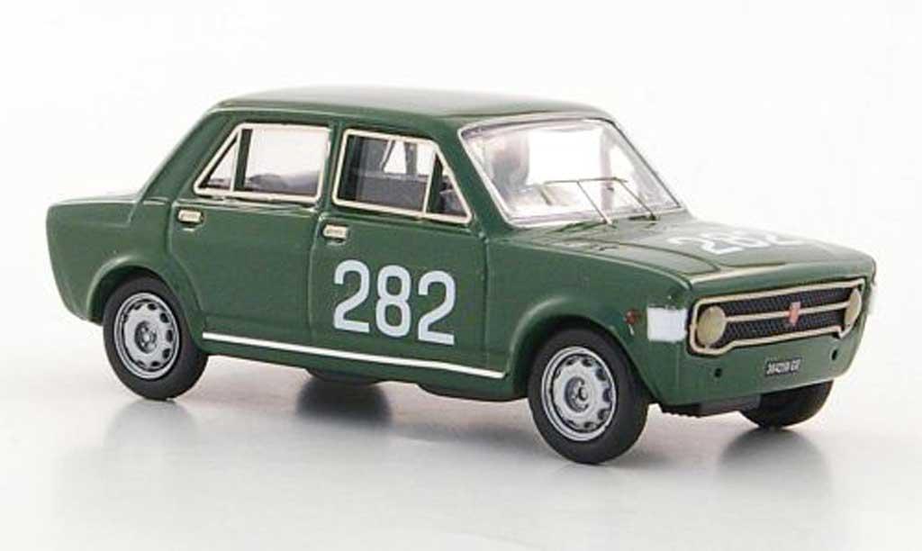 Fiat 128 1/43 Rio No.282 E.Olivari Rally Trento - Bondone 1969 miniature