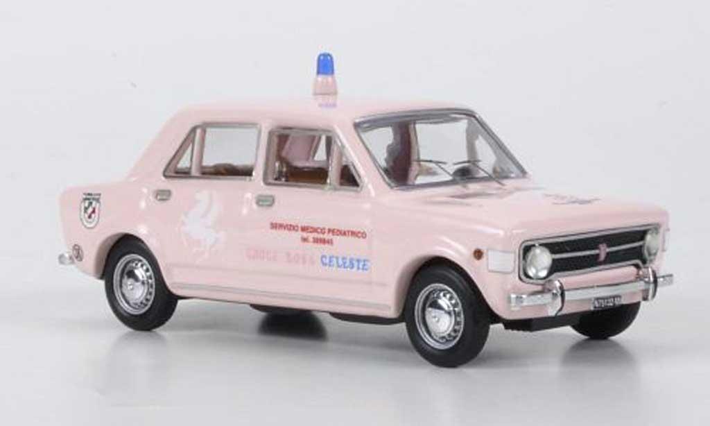 Fiat 128 1/43 Rio Croce Rossa Celeste - rougees Kreuz 1971 miniature
