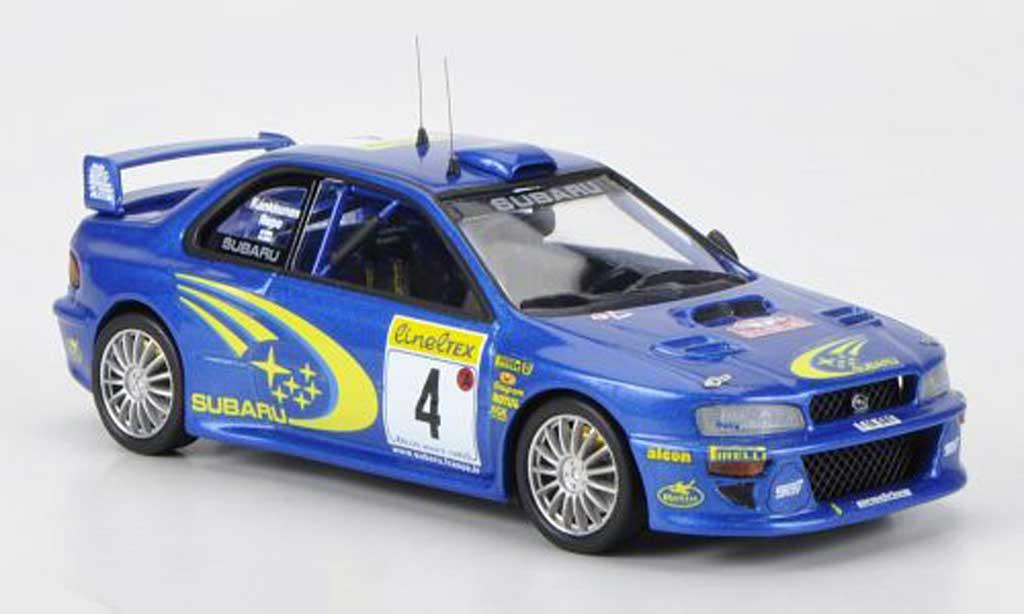 Subaru Impreza WRC 1/43 Trofeu No.4 Works Team J.Kankkunen / Repo Rally Monte Carlo 2000 miniature