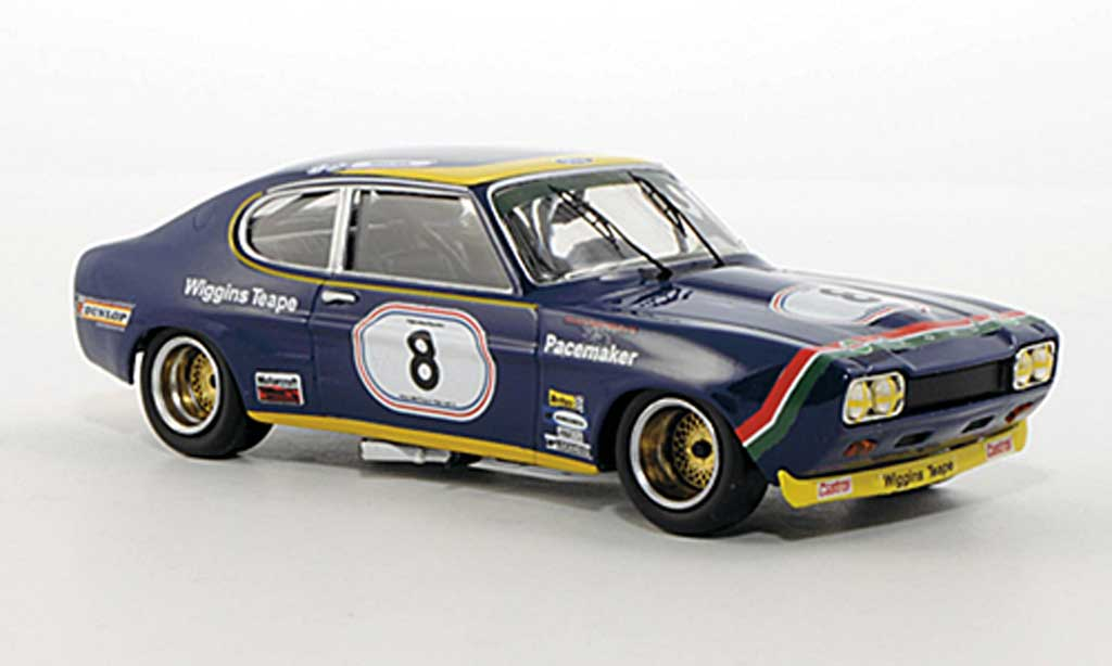 Ford Capri 2600 1/43 Trofeu MkI  No.8 B.Muir Super Sports 200 Silverstone 1972 miniature