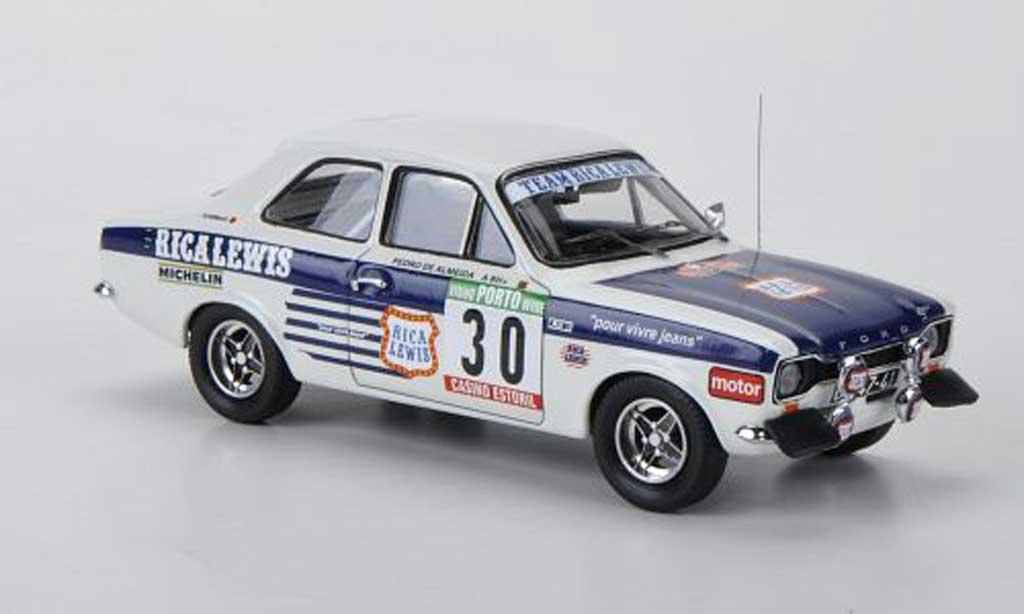 Ford Escort RS 2000 1/43 Trofeu No.30 Team Rica Lewis G.Salvi / P.de Almeida Rally Portugal 1977 miniature