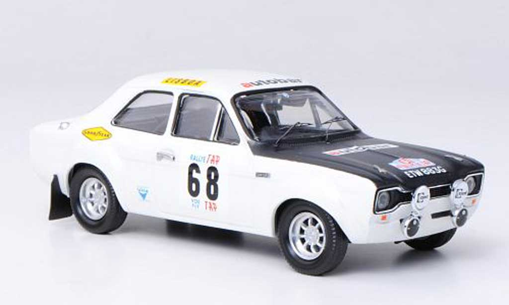 Ford Escort MK1 1/43 Trofeu 1600 TC No.68 Autobar T.Fall / H.Liddon Rally Portugal 1970 diecast