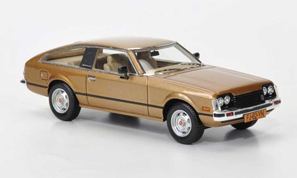 toyota celica 1978 mkii a40 gold neo modellauto 1 43 kaufen verkauf modellauto online. Black Bedroom Furniture Sets. Home Design Ideas