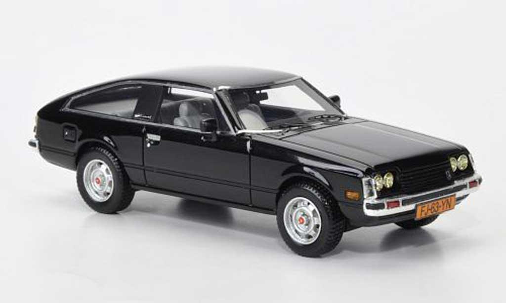 Toyota Celica 1978 1/43 Neo MkII (A40) noire miniature