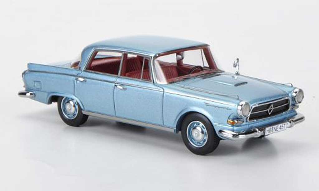 Borgward P100 1/43 Neo bleu 1960 miniature