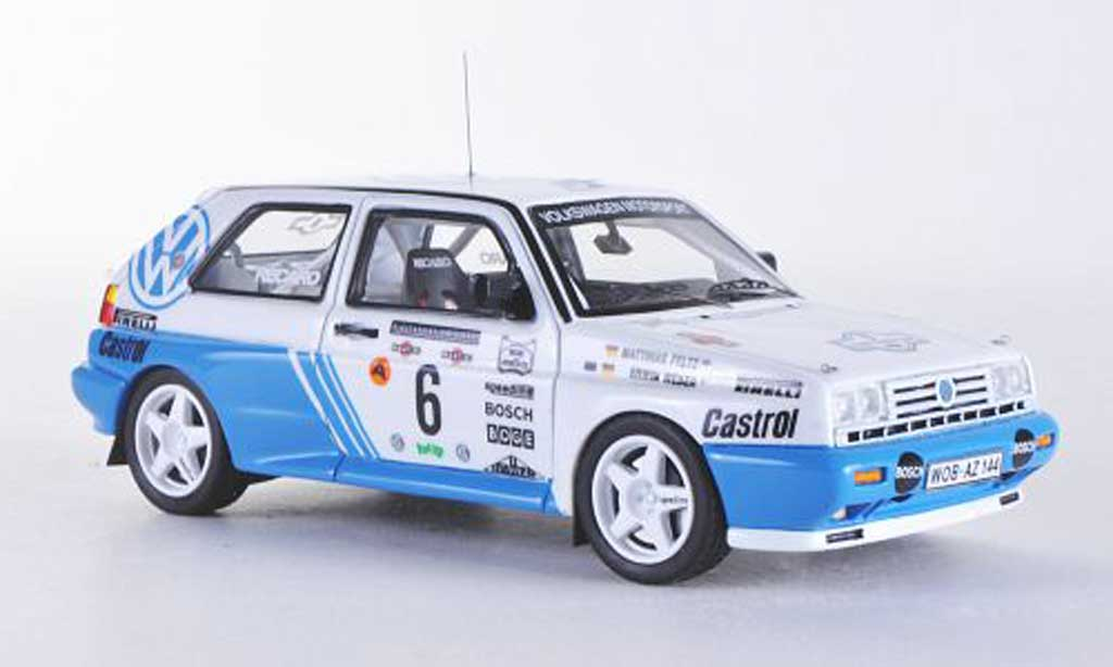 Miniature Volkswagen Golf 2 G60 Rally No.6 E.Weber / M.Feltz Rally Costa Smeralda Neo. Volkswagen Golf 2 G60 Rally No.6 E.Weber / M.Feltz Rally Costa Smeralda Rallye miniature 1/43