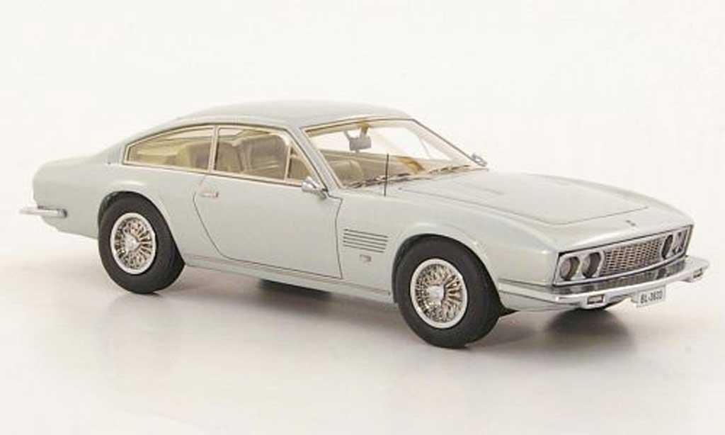 Monteverdi 375 L 1/43 Neo L grise 1969 miniature