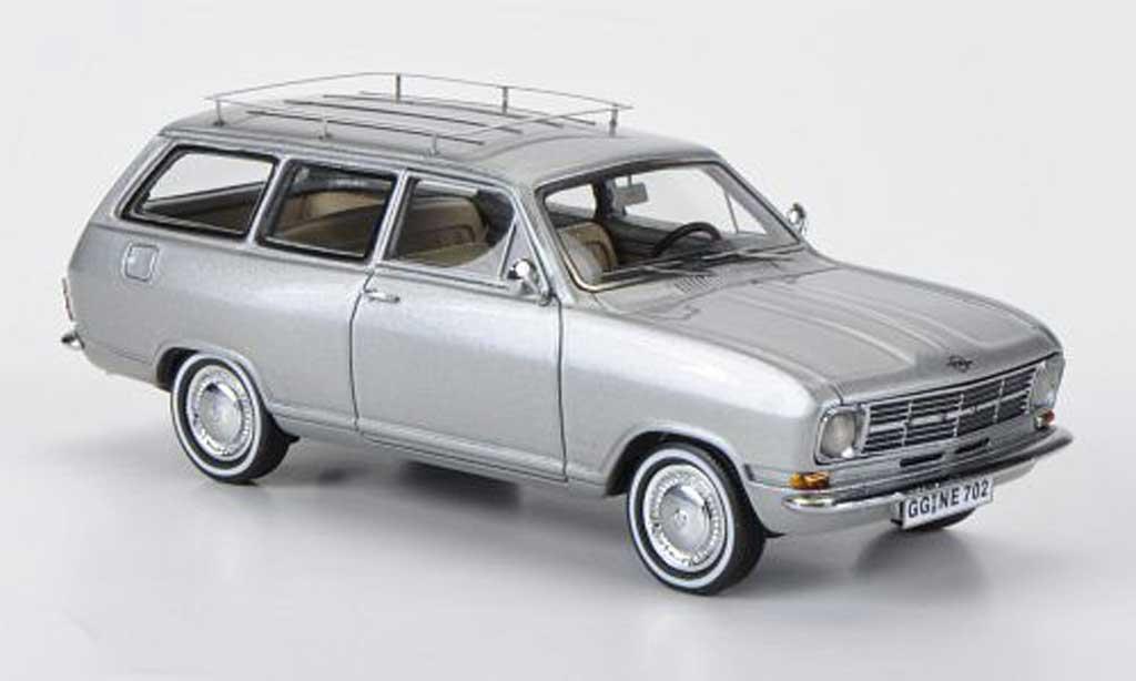 Opel Kadett B 1/43 Neo Caravan grise  1971 miniature