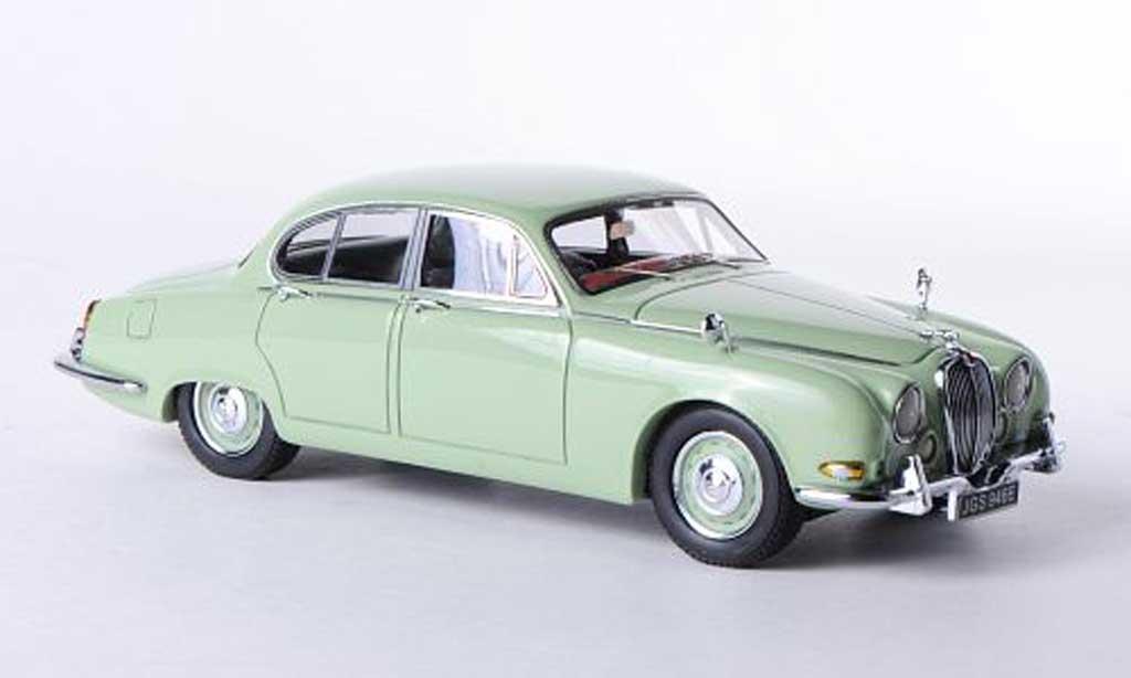 Jaguar S-Type 1/43 Neo 3.8 grun 1965 miniature