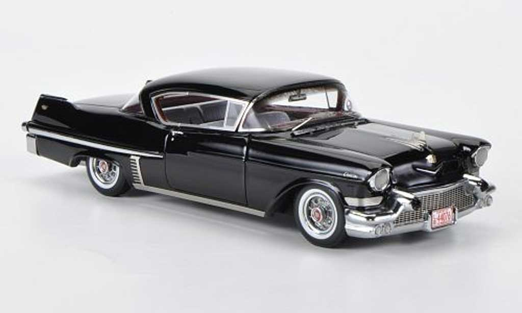 Cadillac Serie 62 1957 1/43 Neo Hardtop Coupe noire miniature