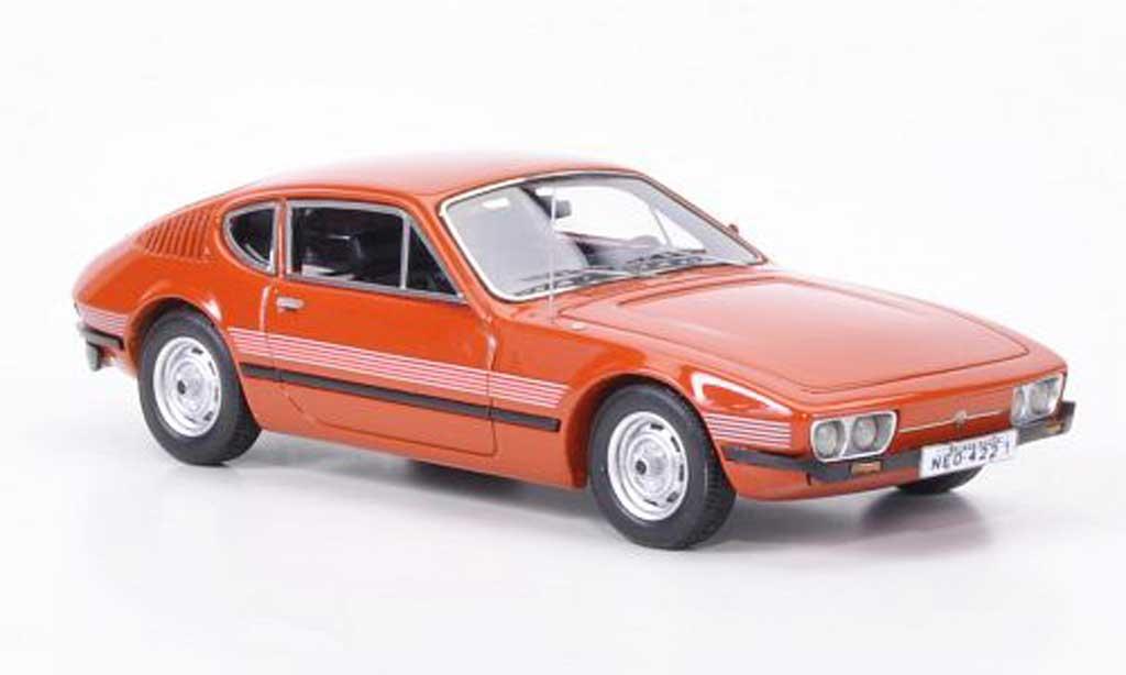 Volkswagen SP2 1/43 Neo orange 1974 miniature