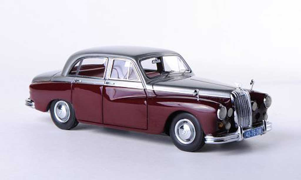 Daimler Majestic 1/43 Neo Major grise/rouge 1959 miniature