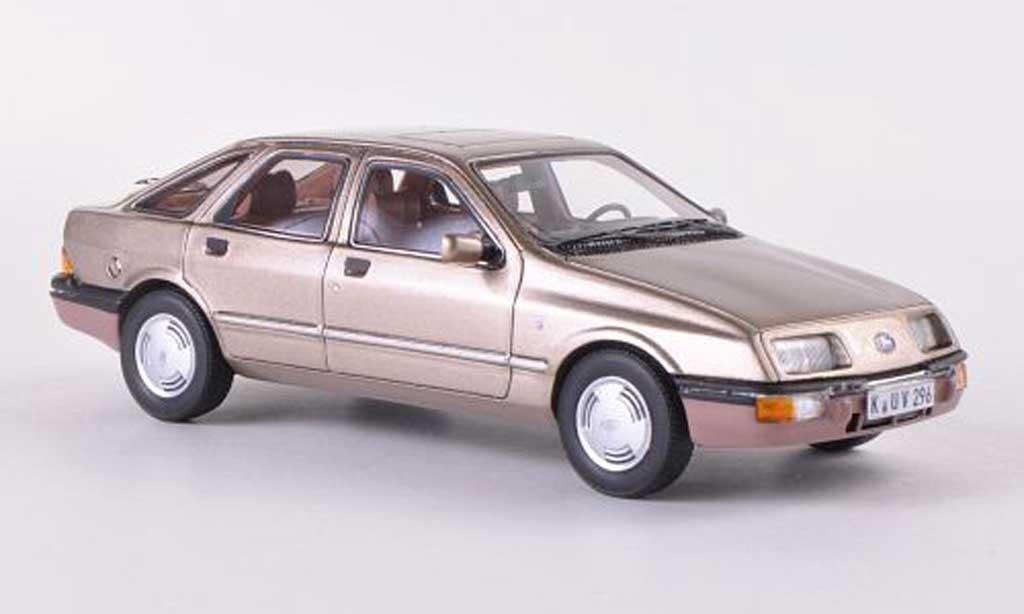 Ford Sierra 1/43 Neo MkI Ghia beige 5-Turer  1982 miniature
