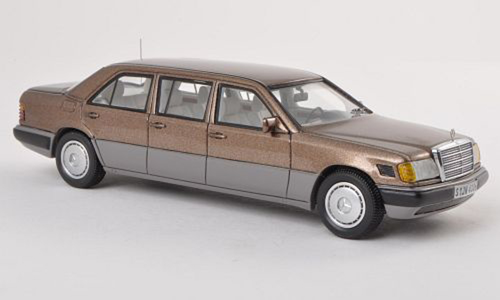 Mercedes 250 1/43 Neo grise Lang (V124) brun/gris