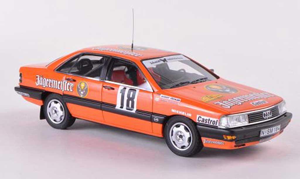 Audi 200 quattro 1/43 Neo No.18 Jagermeister Rally Baden-Wurttemberg 1987 S.Kottulinsky/M.Tuchler miniature