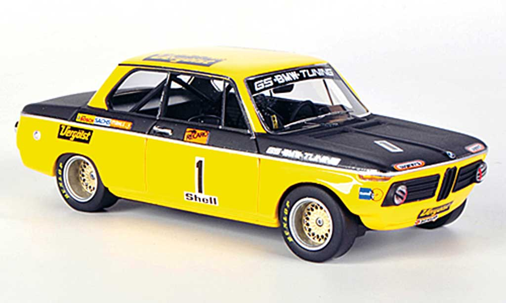 Bmw 2002 Tii 1/43 Neo No.1 GS-Tuning D.Basche DRM miniature