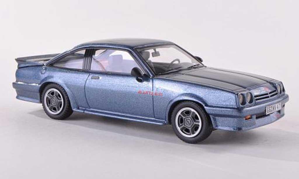 Opel Manta B 1/43 Neo GSi Exclusiv bleu-gris 1986 miniature