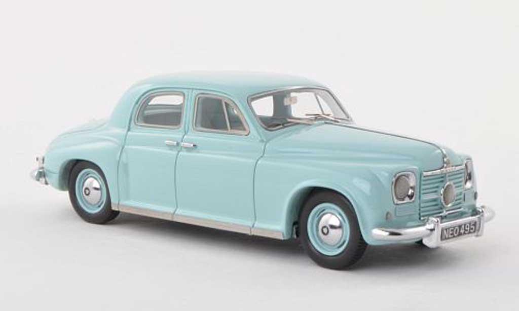 rover p4 75 clair turquoise rhd 1949 neo modellauto 1 43 kaufen verkauf modellauto online. Black Bedroom Furniture Sets. Home Design Ideas